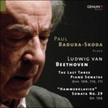 Sonate per Pianoforte N.29, N.30, N.31, N.32 - CD Audio di Ludwig van Beethoven