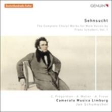 Opere per Coro Maschile vol.1 - CD Audio di Franz Schubert