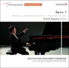 Frank Dupree. Opus 1 - CD Audio di Ludwig van Beethoven,Alban Berg,Luciano Berio,Peter Eötvös,Frank Dupree