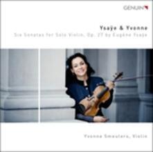 6 sonate per violino solo op.27 - CD Audio di Eugene-Auguste Ysaÿe