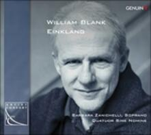 Satz, Trace, Trakl Lied - CD Audio di William Blank