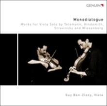 Monodialogue. Opere per viola sola - CD Audio