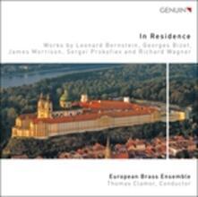 In Residence - CD Audio di Leonard Bernstein,Georges Bizet,European Brass Ensemble