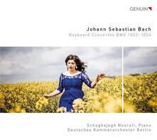 Concerti per strumento a tastiera BWV 1052-1054 - CD Audio di Johann Sebastian Bach,Schaghajegh Nosrati