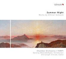 Concerto per violoncello op.61 - Suite per archi op.59 - Sommernacht op.58 - CD Audio di Othmar Schoeck