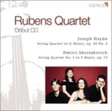Quartetto per Archi Op.20 n.3 - CD Audio di Franz Joseph Haydn