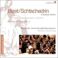 Carmen Suite - CD Audio di Rodion Shchedrin,Michael Sanderling