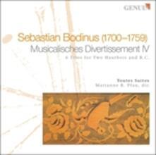 Musicalisches Divertissement Iv - 6 Trii per Due Oboi e Basso Continuo - CD Audio di Sebastian Bodinus