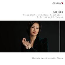 Liaison - Sonata op.1 - CD Audio di Alban Berg,Franz Schubert,Bela Bartok,Mookie Lee-Menuhin
