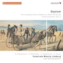 Opere complete per coro maschile vol.5 - CD Audio di Franz Schubert,Camerata Musica Linburg