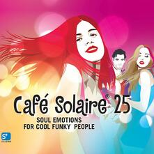 Cafè Solaire 25 - CD Audio