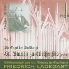 Ladegast Orgeln vol.1 - CD Audio