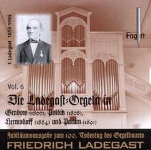 Ladegast Orgeln vol.6 - CD Audio