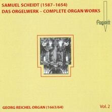 Complete Organ Works Vol. - CD Audio di Samuel Scheidt