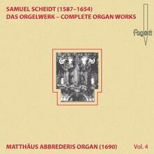 Das Orgelwerk Vol.4 - CD Audio di Samuel Scheidt