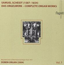 Musica per Organo vol.7 - CD Audio di Samuel Scheidt