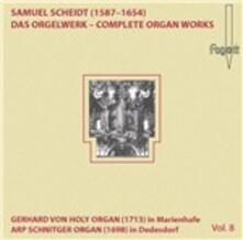 Das Orgelwerk Vol.8 - CD Audio di Samuel Scheidt