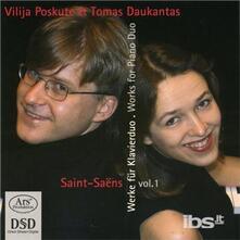 Werke fur 2 Klaviere - SuperAudio CD di Camille Saint-Saëns