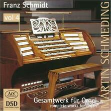 Comp Works For Organ Vol 4 - SuperAudio CD di Franz Schmidt
