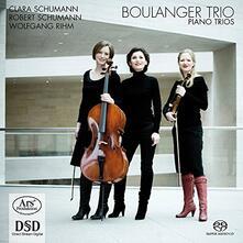 Trii con pianoforte - SuperAudio CD di Robert Schumann,Wolfgang Rihm,Clara Schumann,Boulanger Trio