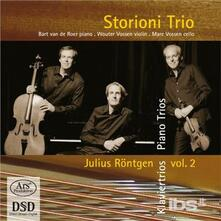 Complete Piano Trios Vol - SuperAudio CD di Julius Röntgen