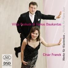 Works for Piano Duo. Arran - SuperAudio CD di César Franck