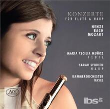Concerts for Flute & Harp - SuperAudio CD di Hans Werner Henze