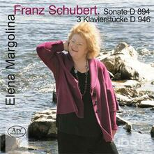 Sonata D894 - 3 Piano Piece - SuperAudio CD di Franz Schubert