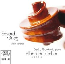 Sonate per Violino - CD Audio di Edvard Grieg