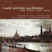 Songs & Arias from Dresde - CD Audio di Richard Wagner