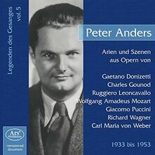 Opera Arias & Scenes - CD Audio di Peter Anders