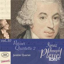 Pariser Quartette 2 - CD Audio di Ignace Pleyel