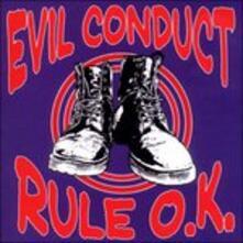 Rule O.k. - CD Audio di Evil Conduct