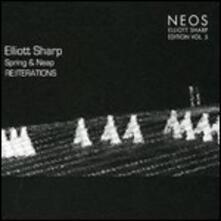 Reiterations. Sharp Edition vol.5 - CD Audio di Elliott Sharp