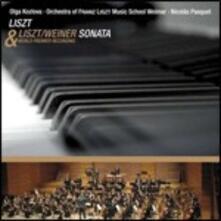 Weiner Sonata - CD Audio di Franz Liszt