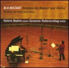 Sonate per violino - CD Audio di Wolfgang Amadeus Mozart