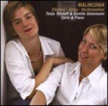 Malinconia - CD Audio di Edvard Grieg,Sergej Vasilevich Rachmaninov,Jean Sibelius,Tanja Tetzlaff,Gunilla Sussmann
