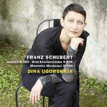 Sonata D960 - Tre composizioni per pianoforte D946 - Momenti musicali D780 - CD Audio di Franz Schubert,Dina Ugorskaja