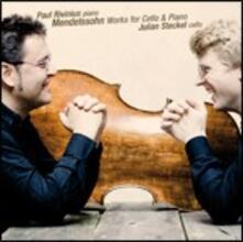 Musica per violoncello e pianoforte - CD Audio di Felix Mendelssohn-Bartholdy