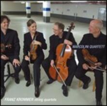 Quartetti per archi - CD Audio di Franztisek Vincenc Krommer