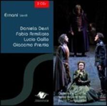 Ernani - CD Audio di Giuseppe Verdi,Daniela Dessì,Lucio Gallo,Fabio Armiliato,Orchestra del Teatro Regio di Torino,Bruno Campanella
