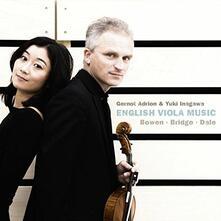 Englische Viola Musik - CD Audio