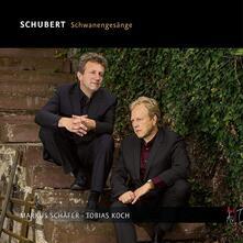 Schwanengesange - CD Audio di Franz Schubert,Markus Schäfer,Tobias Koch