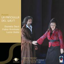 La fanciulla del West - CD Audio di Giacomo Puccini,Daniela Dessì,Lucio Gallo,Fabio Armiliato,Alberto Veronesi