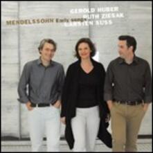 Frühe Lieder - CD Audio di Felix Mendelssohn-Bartholdy,Ruth Ziesak,Carsten Süss