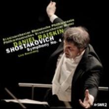 Sinfonia n.4 - CD Audio di Dmitri Shostakovich,Daniel Raiskin