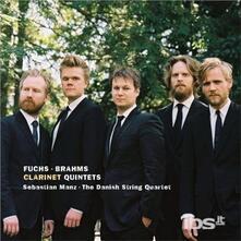 Quintetti con Clarinetto - CD Audio di Johannes Brahms