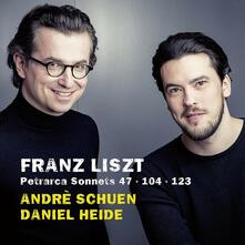 Sonetti di Petrarca - CD Audio di Franz Liszt,Andrè Schuen,Daniel Heide