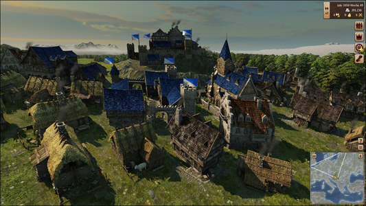 Videogioco Grand Ages: Medieval PlayStation4 3