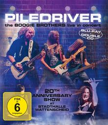 The Boogie Brothers Live in Concert - CD Audio + Blu-ray di Piledriver